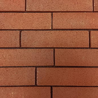 Medium Red Modern Brickslip