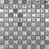 Square Mirrorerd Glass Mosaic