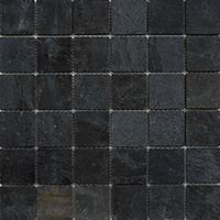 Black Slate Mosaic 4.8x4.8mm