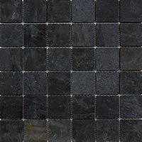 Black Slate Mosaic 4.8x4.8mm
