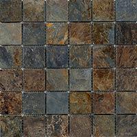 Multi Slate Mosaic 4.8x4.8mm