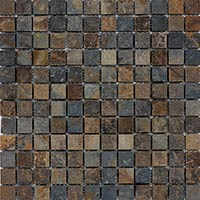 Multi Slate Mosaic 2.3x2.3mm