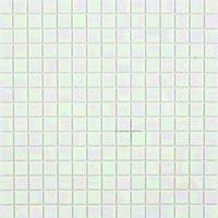 Lustre Pearl White Mosaic Tiles