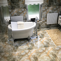 Onyx Mountainburst Cream Tiles