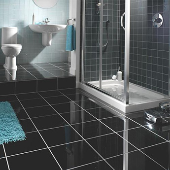 http://www.tilesporcelain.co.uk/Super Black Polished Porcelain Tile