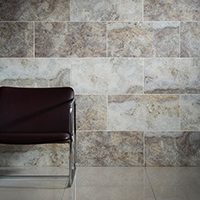 Elegance Silver Travertine Matt Tiles