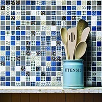 Patchwork Winter Mix Mosaic Tiles