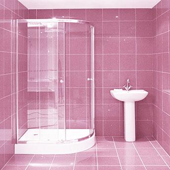 Baby Pink Quartz Sparkly Tiles Tilesporcelain