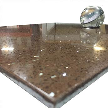 Chocolate Brown Quartz Tiles
