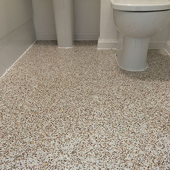 Cosmos White Tiles - Gold Sparkle