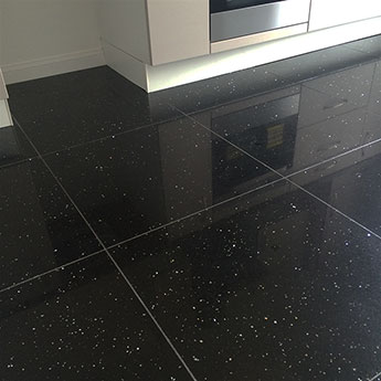 black granite kitchen floor tiles sparkly black quartz tiles savings buy today 7876