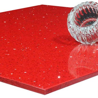 Ruby Red Quartz Tiles