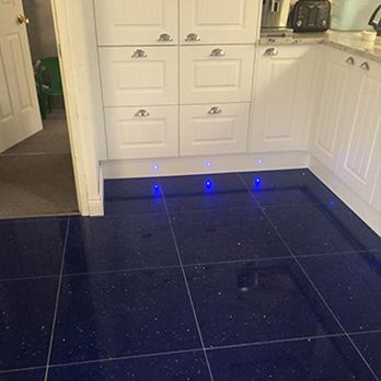 Sapphire Blue Tiles