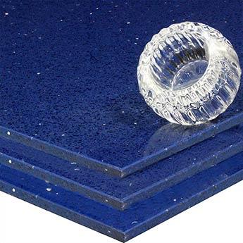 Sapphire Blue Quartz Tiles