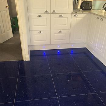 Sapphire Blue Quartz Tiles Stardust Quartz Tilesporcelain