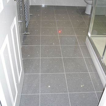 Black Sparkle Porcelain Floor Tiles
