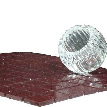 Quartz Amethyst Plum Mosaic Tiles
