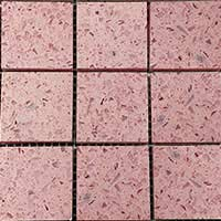 Baby Pink Mosaic Sheets