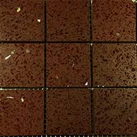 Chocolate Brown Quartz Mosaic Tiles
