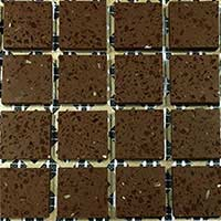 Chocolate Brown Mosaic Tiles