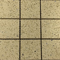 Arabian Cream Quartz Mosaic