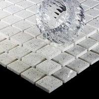 http://www.tilesporcelain.co.uk/Diamond White Quartz Mosaic Tiles