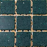 Emerald Green Mosaic Tiles
