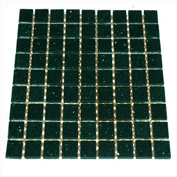 Emerald Green Quartz Mosaic Tiles