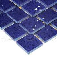 http://www.tilesporcelain.co.uk/Sapphire Blue Quartz Mosaic Tiles