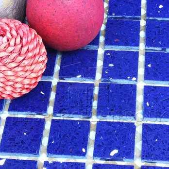 Sapphire Blue Quartz Mosaics