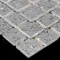http://www.tilesporcelain.co.uk/Zultanite Grey Quartz Mosaic Tiles