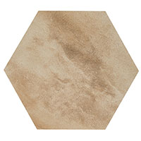 Country Brick Beige Hexagon