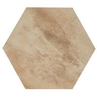 Country Brick Beige Hexagon