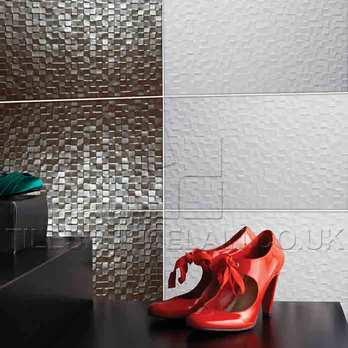 Studio Conran Hartland White Mosaic Ceramic Tiles