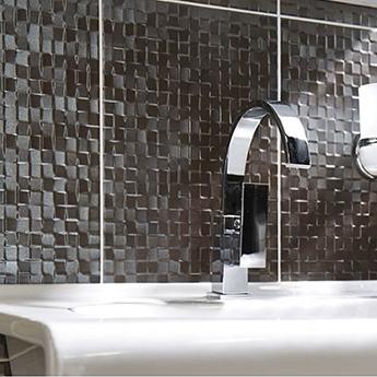 Studio Conran Hartland Metallic Mosaic Ceramic Tiles