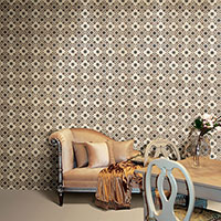 Ferarra Marron Moroccan Effect Tile