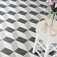 Twenties Diamond Design Porcelain Tiles