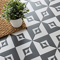 Twenties Vertex Design Porcelain Tiles