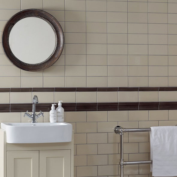 Savoy Oat Gloss Tiles