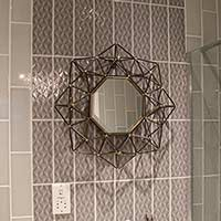 Savoy Steel Gloss Decor Tiles