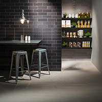 Savoy Noir Gloss Decor Tiles