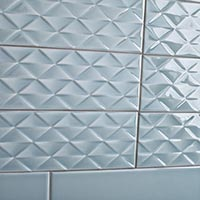 Savoy Leaf Gloss Decor Tiles