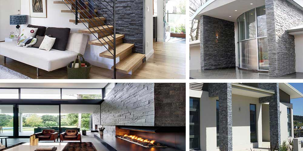 Charcoal cladding