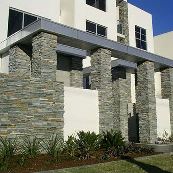 Sage Pearl Rock Panel Cladding