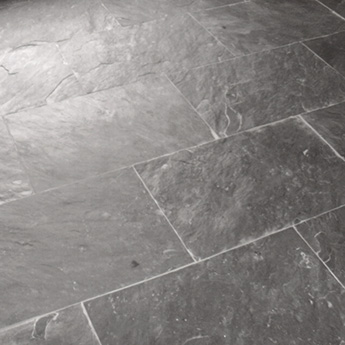 Brazilian Black Slate Floor Tiles