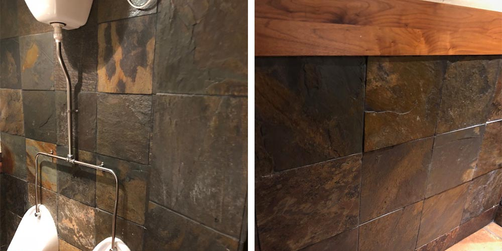 Multi Slate Bathroom