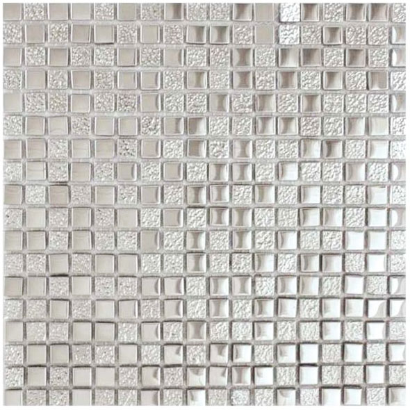 Elements Mercury Metallic Mosaic