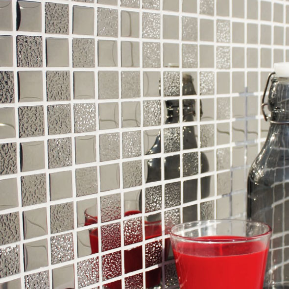 Elements Zinc Metallic Mosaic