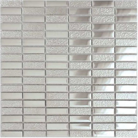 Elements Chromium Metallic Mosaic