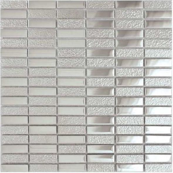 Elements Chromium Metallic Mosaic